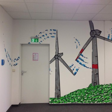 EnBW Workshop – Tape Art mit DUMBO AND GERALD