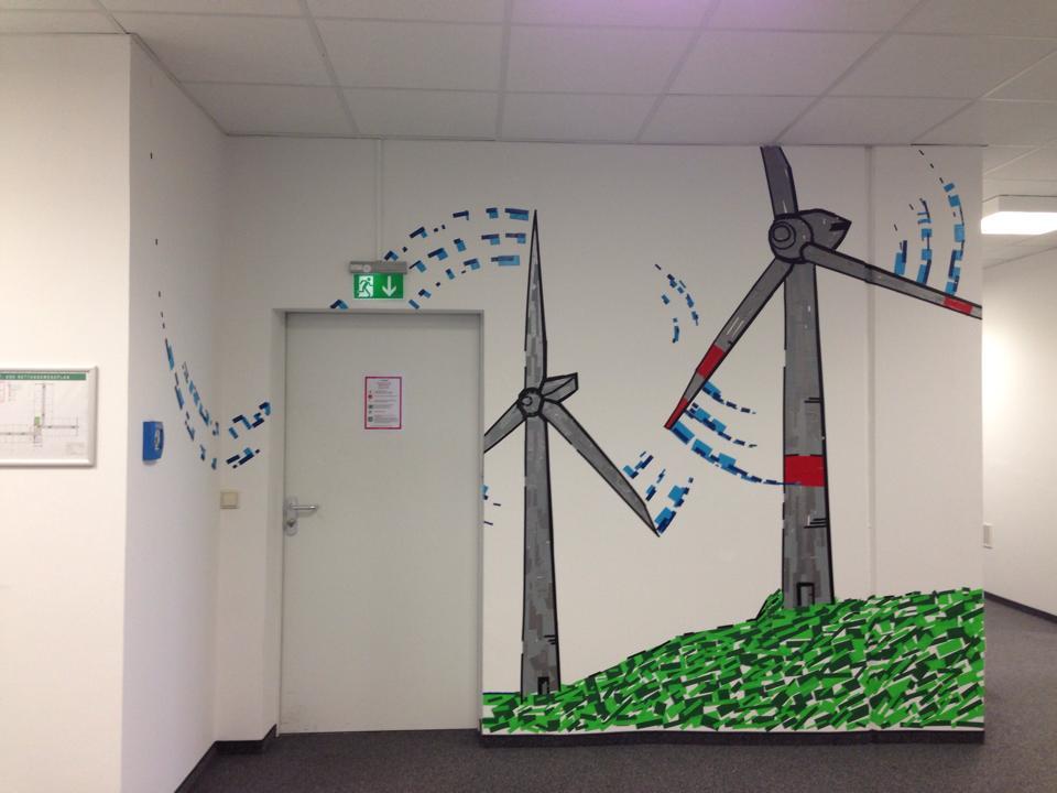 EnBW Workshop – Tape Art mit DUMBO AND GERALD
