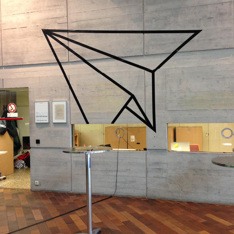 Städtebau Institut Uni Stuttgart – Tape Art von DUMBO AND GERALD