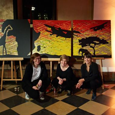 Daniela Scheil, Isabelle Possehl und Janina Schneider
