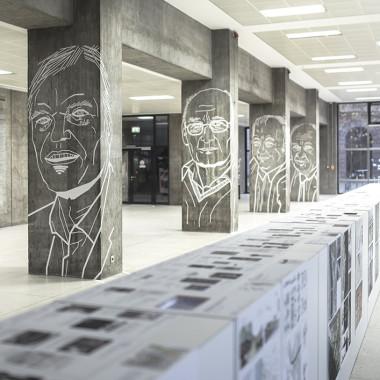 Städtebau-Institut Uni Stuttgart – Tape Art von DUMBO AND GERALD