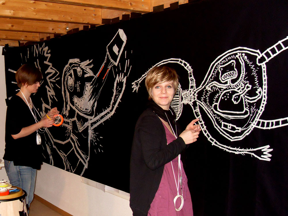 Kavantgarde Musikfest – Tape Art von DUMBO AND GERALD