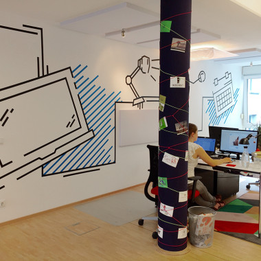 designenlassen.de Office Tape Art by DUMBO AND GERALD