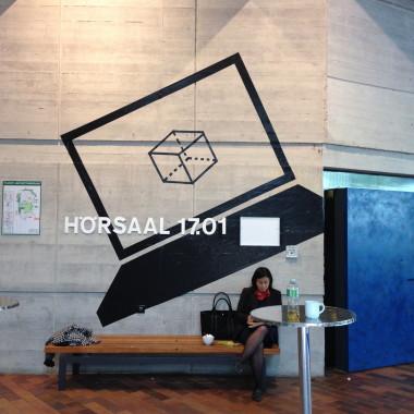 Städtebau Institut Uni Stuttgart – Tape Art von DUMBO AND GERALD- Street art