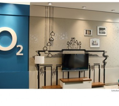 o2 Shop Dortmund – Tape Art von DUMBO AND GERALD-Shops