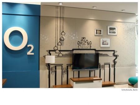 o2 Shop Dortmund – Tape Art von DUMBO AND GERALD-Shops