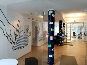 designenlassen.de Büro Tape Art by DUMBO AND GERALD