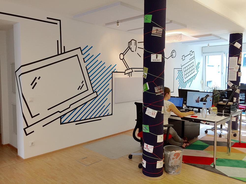 designenlassen.de Office Tape Art by DUMBO AND GERALD