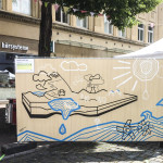 Klimafest Esslingen Tape Art by DUMBO AND GERALD