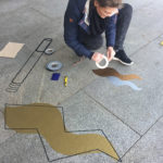 DUMBO AND GERALD Tape Art Famab Ludwigsburg
