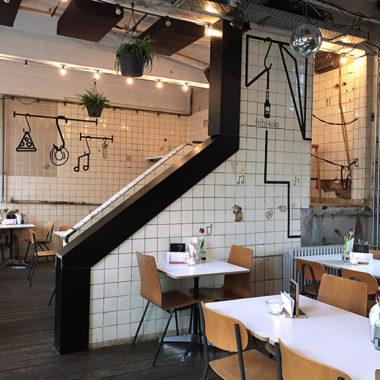 Restaurant-DUMBOANDGERALD-TapeArt-Fettschmelze-Karlsruhe