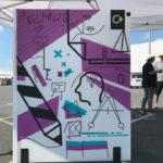 DUMBO AND GERALD – Gemeinschaftswerk mit Groß und Klein: Tape Art für das smart 20 Jahre Geburtstagsfest in Hambach Frankreich
