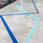 3TAPE-ART-DUMBOANDGERALD-Leitsystem-Riem-Arcaden-Muenchen